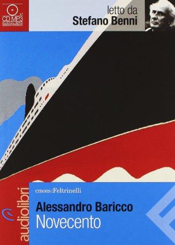9788807735073: Novecento letto da Stefano Benni. Audiolibro. CD Audio formato MP3