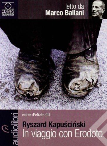 9788807735134: In viaggio con Erodoto letto da Marco Baliani. Audiolibro. CD Audio formato MP3 (Emons/Feltrinelli)