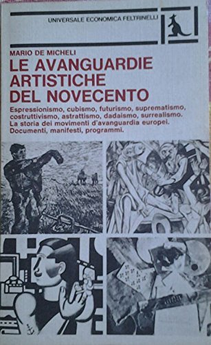 9788807805226: Le avanguardie artistiche del Novecento