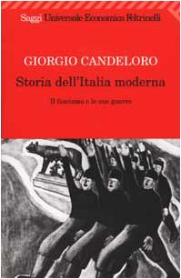 9788807808043: Storia Dell'Italia Moderna: Volume 9. Il Fascismo E Le Sue Guerre (1922-1939) (Italian Edition)