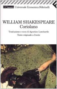 Coriolano. Testo inglese a fronte (9788807821615) by William Shakespeare
