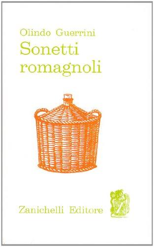 9788808010988: Sonetti romagnoli