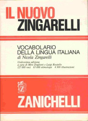 9788808029089: Il nuovo Zingarelli. Vocabolario della lingua italiana