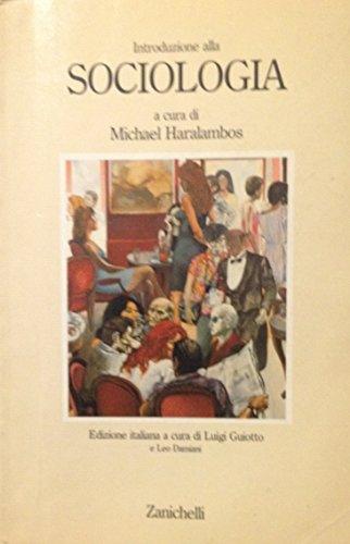 Introduzione alla sociologia (Antrop. Filos. Sociol. Sc.