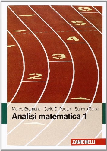 9788808064851: Analisi matematica 1