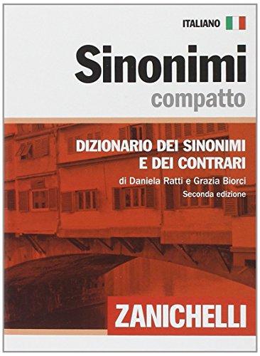 9788808065834: Sinonimi compatto. Dizionario dei sinonimi e dei contrari