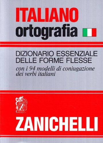 9788808068644: Italiano-ortografia. Dizionario essenziale delle forme flesse