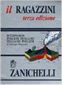 9788808099600: Italian Nuovo Zanichelli Dictionary (Italian Edition)