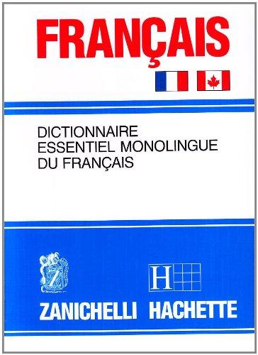 9788808105721: Français. Dictionnaire essentiel monolingue du français