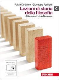 9788808110084: Lezioni di storia della filosofia. Vol. C: Ottocento e primo Novecento. Per le Scuole superiori. Con espansione online