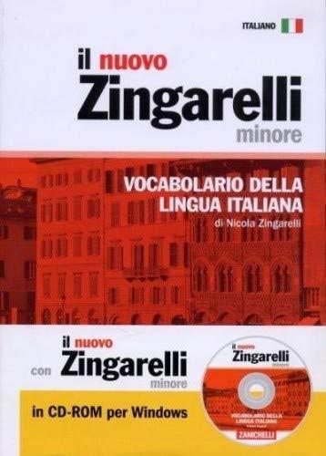 il nuovo zingarelli minore + cdrom - broche - vocabolario della lingua italiana - Zingarelli, Nicola