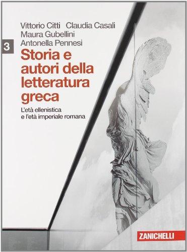 9788808129055: Storia e autori della letteratura greca. Per le Scuole superiori. Con espansione online: 3