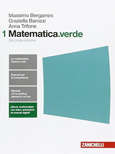 9788808137340: Matematica.verde. Per le Scuole superiori. Con e-book. Con espansione online