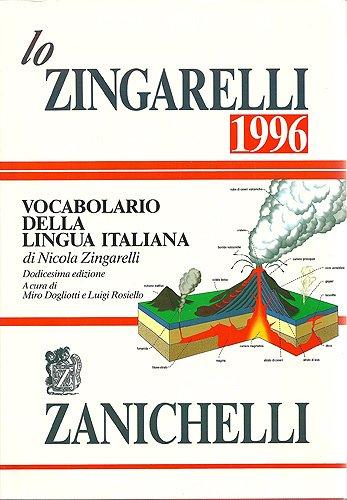 Lo Zingarelli 1996: Vocabolario Della Lingua Italiana: S F Vanni