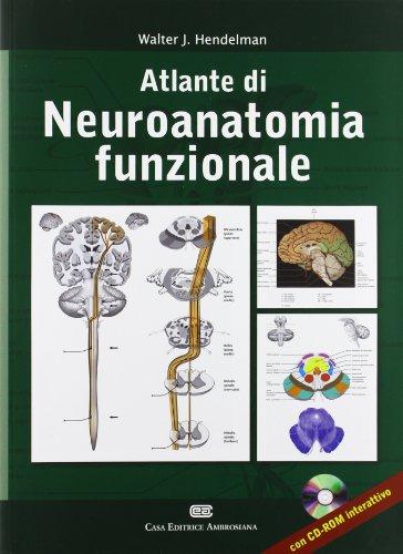 9788808183941: Altlante dei neuroanatomia funzionale. Ediz. italiana e inglese. Con CD-ROM