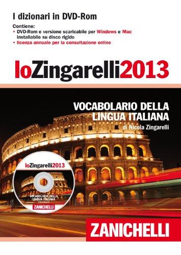 9788808198372: Lo Zingarelli 2013. Vocabolario della lingua italiana. DVD-ROM (I grandi dizionari)