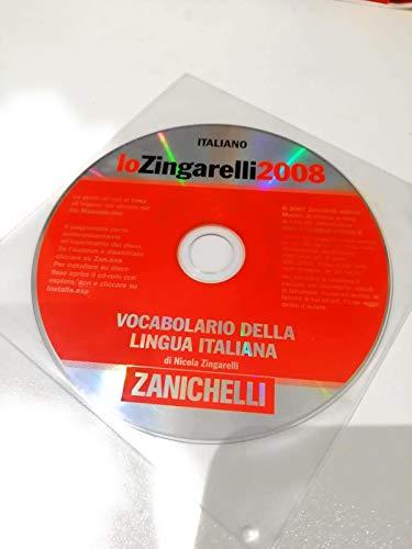 9788808200358: Lo Zingarelli 2008. Vocabolario della lingua italiana. CD-ROM