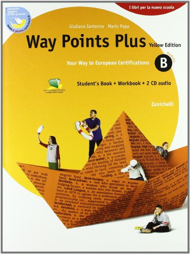 9788808215543: Way points plus. Yellow edition. Modulo B plus. Con 2 Cd Audio. Per le Scuole superiori