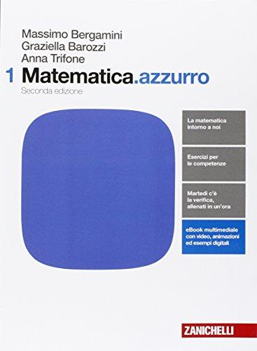 9788808237347: Matematica.azzurro. Per le Scuole superiori. Con e-book. Con espansione online