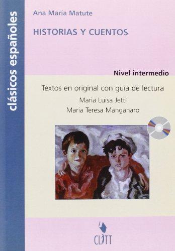 9788808249302: Historias y cuentos. Clasicos españoles. Con CD Audio