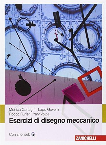 9788808261021: Esercizi di disegno meccanico
