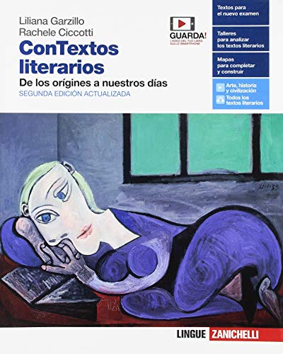9788808274076: ConTextos literarios. Volume unico: De los orígines a nuestros días. Per le Scuole superiori. Con e-book. Con espansione online [Lingua spagnola]