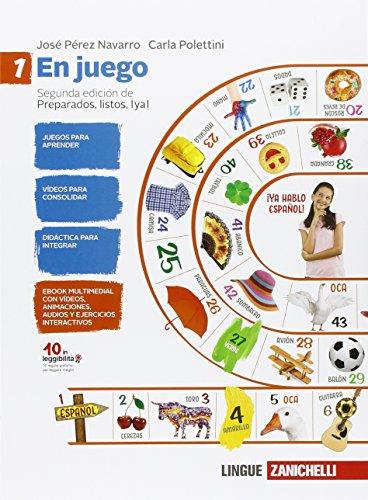 9788808321220: En juego-A través de la cultura hispánica. Per la Scuola media. Con espansione online: 1