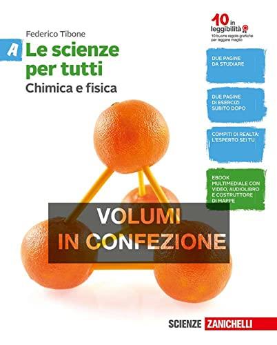 9788808337559: Le scienze per tutti. Vol. A-B-C-D. Per la Scuola media. Con e-book. Con espansione online