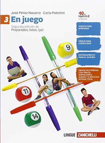 9788808437358: En juego. Per la Scuola media. Con e-book. Con espansione online: 3