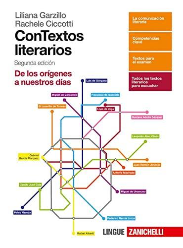 9788808521064: Contextos literarios. Volume unico. Per le Scuole superiori. Con aggiornamento online [Lingua spagnola]
