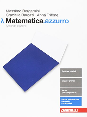 9788808589941: Matematica.azzurro. Modulo Lambda. La matematica per l'economia. Per le Scuole superiori. Con aggiornamento online
