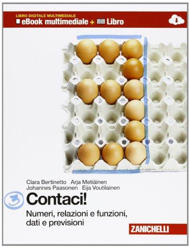 9788808600196: Contaci! Per la Scuola media. Con CD-ROM. Con e-book. Con espansione online: 3