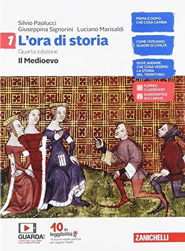9788808648204: L'ora di storia. Con Atlante storico. Per la Scuola media. Con e-book. Con espansione online: 1