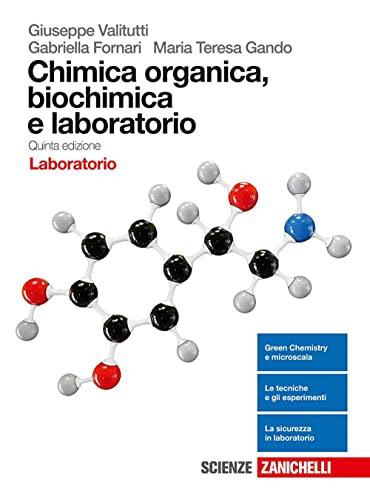 9788808648389: Chimica organica, biochimica e laboratorio