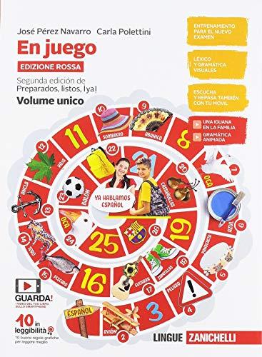 9788808705860: En juego. Ediz. rossa. Volume unico. Con A través de la cultura hispánica. Per le Scuole superiori. Con e-book. Con espansione online