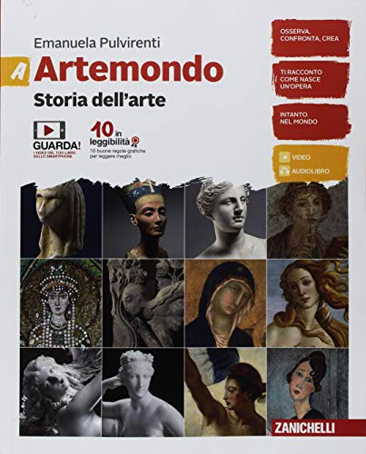 9788808821102: Artemondo. Per le Scuole medie. Con e-book. Con Libro: Album: A-B