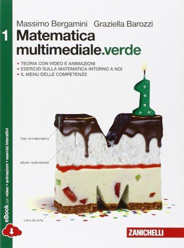 9788808834676: Matematica multimediale.verde. Per le Scuole superiori. Con e-book. Con espansione online