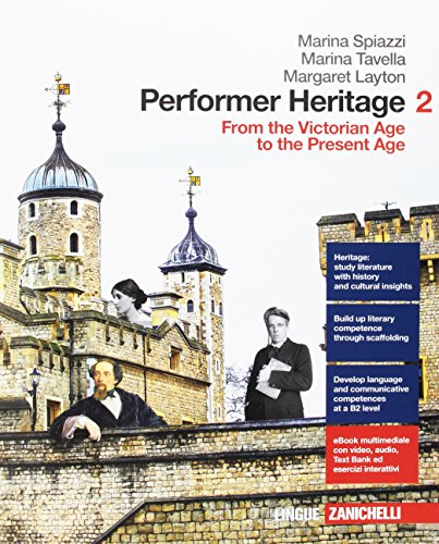 9788808899170: Performer heritage. Per le Scuole superiori. Con aggiornamento online [Lingua inglese]: 2