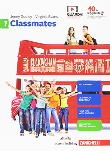9788808921130: Classmates. Corso di inglese per la scuola secondaria di primo grado. Per la Scuola media. Con Contenuto digitale per download e accesso on line: 1