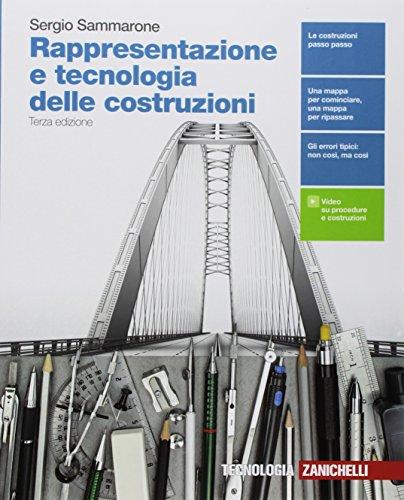 9788808961730: Rappresentazione e tecnologia delle costruzioni. Per le Scuole superiori. Con e-book