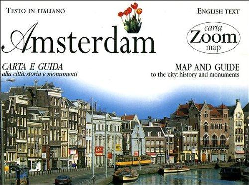 9788809013568: Amsterdam. Carta e guida alla città: storia e monumenti