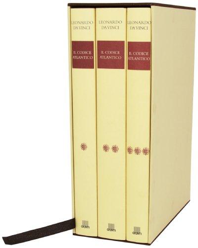 9788809018105: Il Codice Atlantico della Biblioteca ambrosiana di Milano (Grandi opere in facsimile)