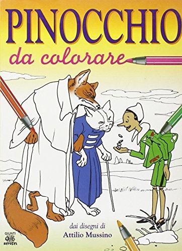 Pinocchio da colorare: Collodi, Carlo