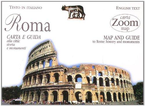 9788809217584: Roma. Carta e guida alla città: storia e monumenti (Carte zoom)