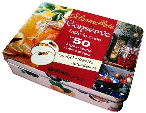 9788809773547: Marmellate e conserve fatte in casa. Le 50 migliori ricette di ieri e di oggi. 50 schede di ricette illustrate