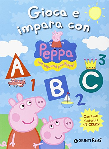 9788809776838: Peppa Pig: Gioca e Impara Con Peppa Pig (Italian Edition)