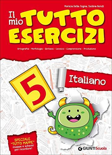 9788809786790: Il mio tuttoesercizi italiano. Per la Scuola elementare: 5