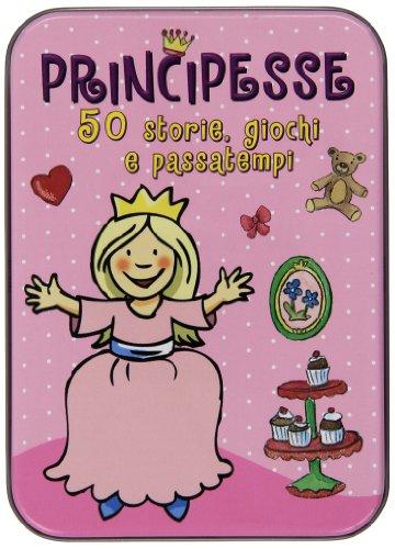 9788809790001: Principesse. 50 storie, giochi e passatempi. Con adesivi