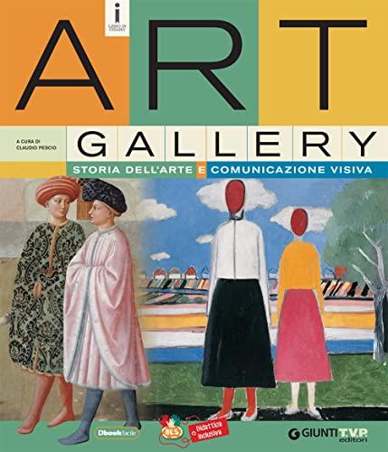 9788809826298: Art gallery. Storia dell'arte e comunicazione visiva. Per la Scuola media. Con e-book. Con espansione online