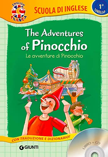 9788809829480: The adventures of Pinocchio-Le avventure di Pinocchio. Con CD Audio [Lingua inglese]